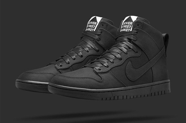 Dover Street Market and NikeLab Team Up Again With This Dunk High - SneakerNews.com