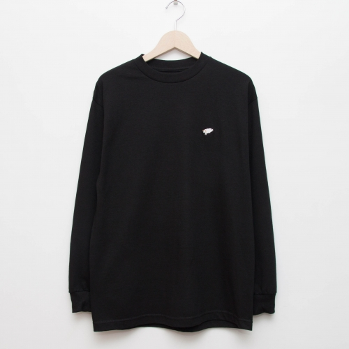 Basic L/S - Black - cup and cone WEB STORE