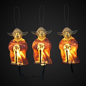 ThinkGeek :: Star Wars Holiday Lights