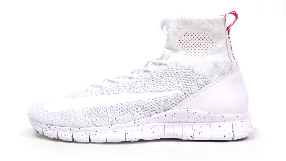 """FREE FLYKNIT MERCURIAL """"LIMITED EDITION for NSW FLYKNIT"""" WHT/RED サイズで探す ビッグサイズ 29cm以上 