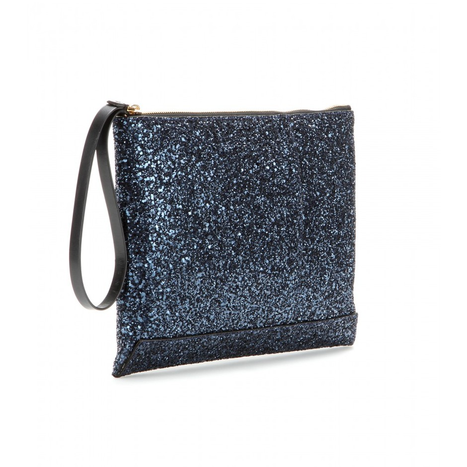 mytheresa.com - Glitter clutch - Clutch bags - Bags - Luxury Fashion for Women / Designer clothing, shoes, bags