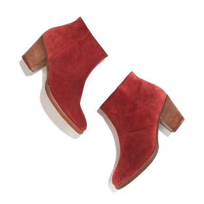 The Zipcode Boot in Suede - boots - Women's SHOES & BOOTS - Madewell