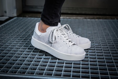 Stan Smith Bold W (white / grey)