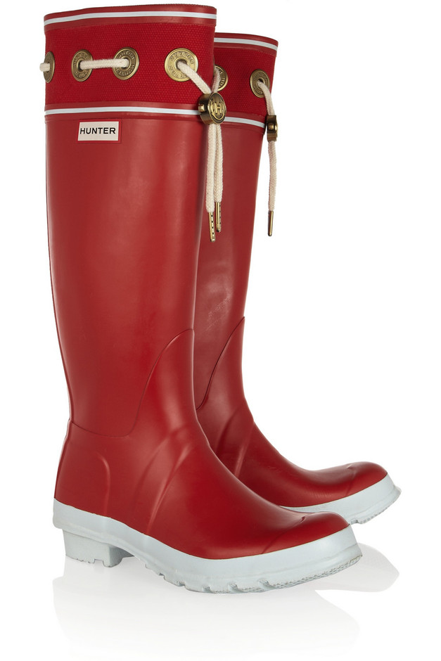Hunter Thurlestone Wellington boots - 40% Off Now at THE OUTNET