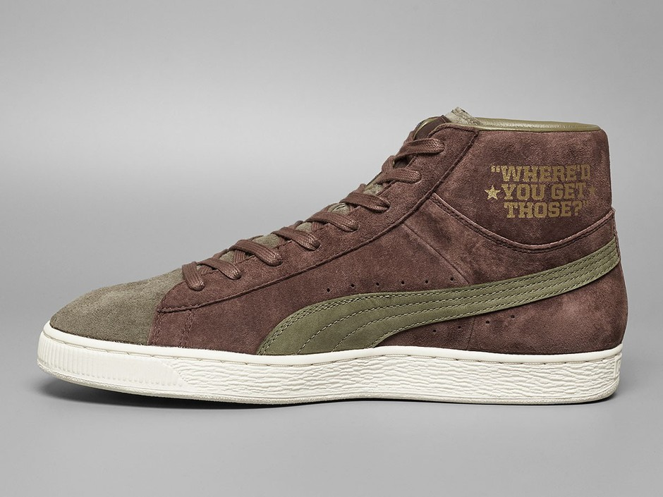 Puma x Bobbito Garcia Suede Mid | 361050-01 | chestnut/burnt olive/gold | Solebox | Shop