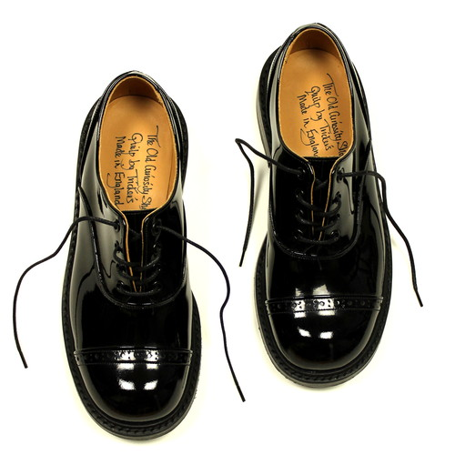 Tricker's / The Old Curiosity Shop x Quilp by Tricker's / Oxford Shoes - Patent / Black / M7401 | STARLING online store