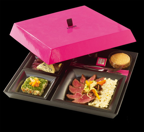 Executive lunch Boxes at Fauchon, Paris   Bakers and Artists   The Daily Gourmet Food CataBlog   Trends   Packaging   Hampers   Cupcakes   Cakes   Cookies   Chocolate