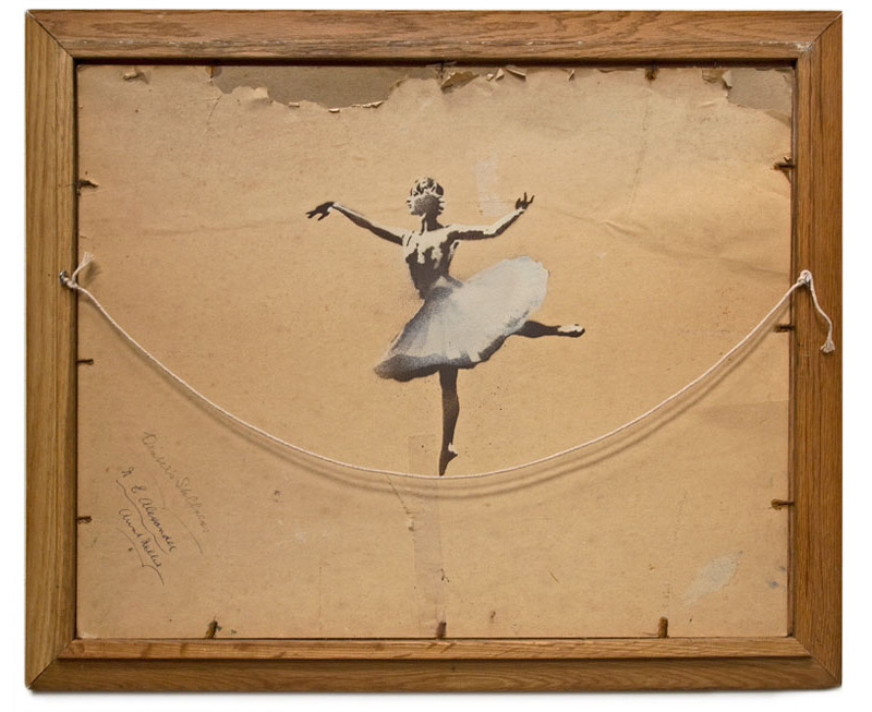 'Ballerina' by Banksy | The Fox Is Black