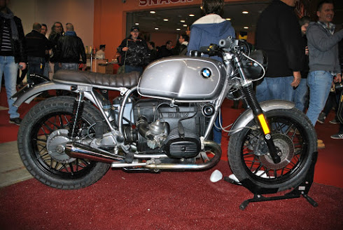 Inazuma café racer: BMW twin days