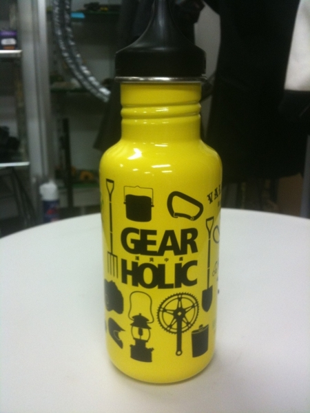 GEARHOLIC bottle c/SOLAR YELLOW by tempragarage (tempragarage) on Mobypicture