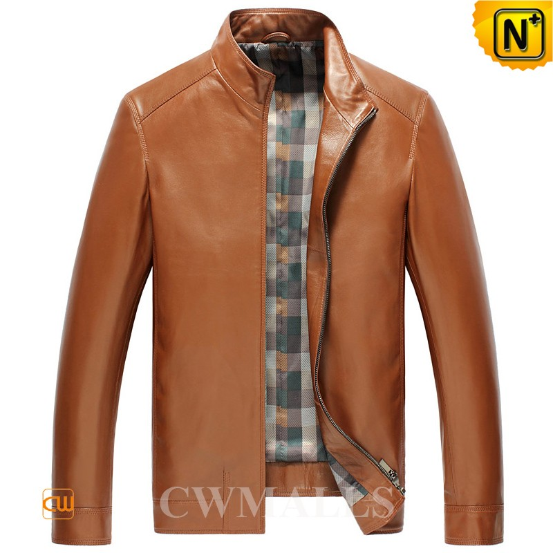 Mens Leather Motorcycle Jackets CW850406
