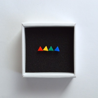 【Lanterna】Toy Color Posts - Triangle