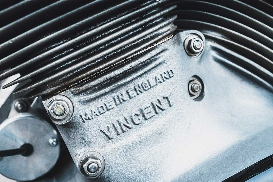 21st Century Vincent Black Shadow   Return of the Cafe Racers