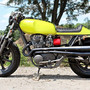 Yamaha XS650 Lime Green Goodness ~ Return of the Cafe Racers