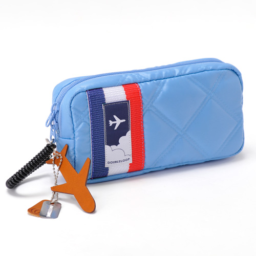 【DOUBLELOOP】JOURNEY POUCH「SKY BLUE」 | 藤巻百貨店