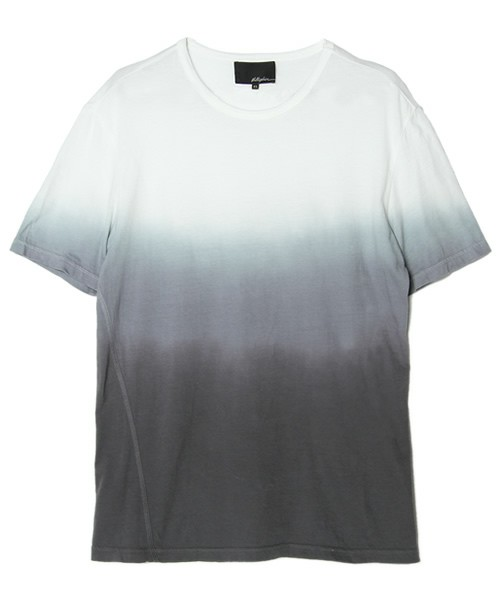 3.1 Phillip Lim MEN / crewneck t-shirt w/dip dye gradient and coverstitch detail(Tシャツ・カットソー) - ZOZOVILLA