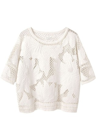 Étoile Isabel Marant Calice Embroidered Top