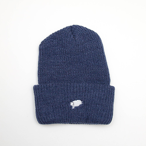 Cycle Sheep Watch Cap - Blue - cup and cone WEB STORE