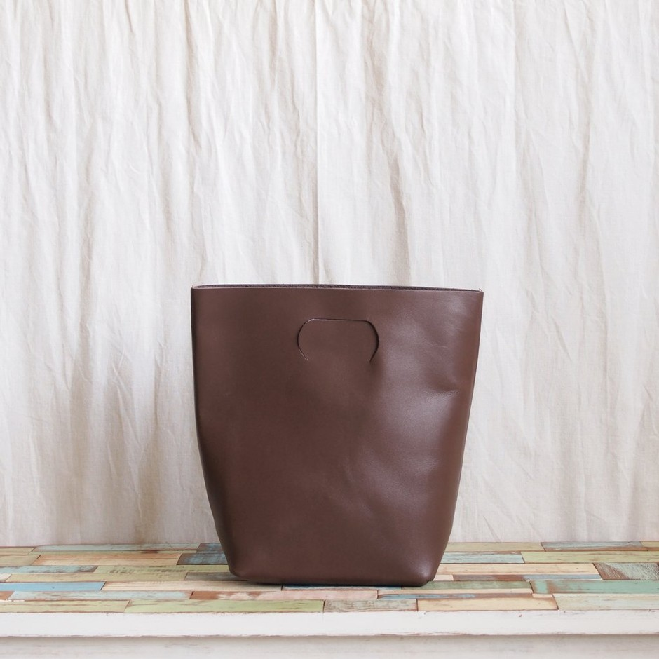 Hender Scheme - not eco bag small #dark brown 1