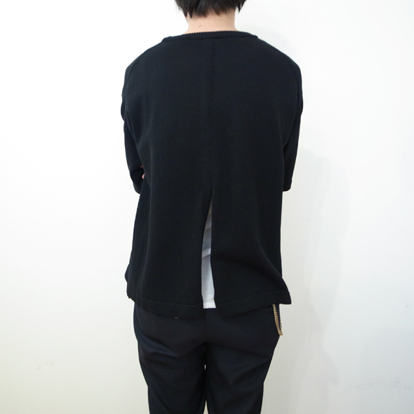 S/S Knit Black | crepuscule を通販 | SUPPLY TOKYO online store