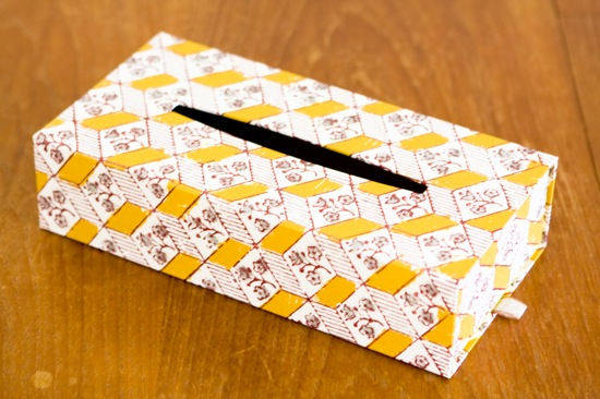 TISSUE BOX - box and needle on-line boutique