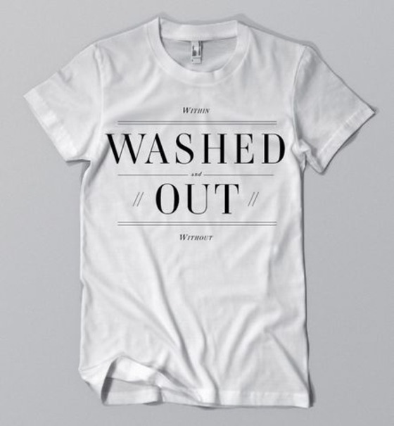 Sub Pop Records : Washed Out : Washed Out White