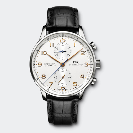 IWC Schaffhausen | Fine Timepieces From Switzerland | Collection | Portuguese Family | Portuguese Chronograph