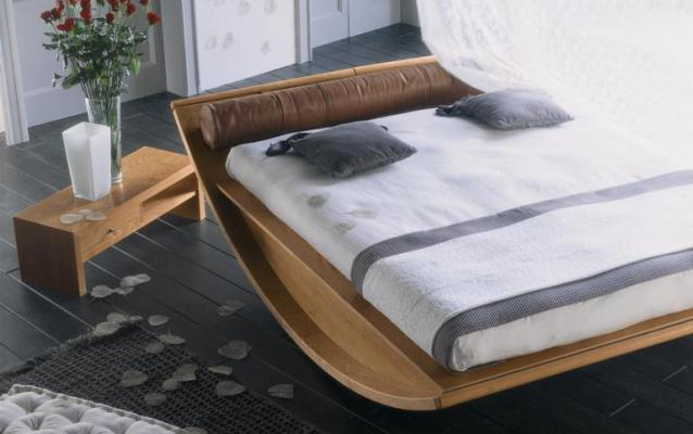 Wooden Gondola Bed