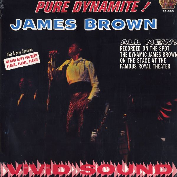 JAMES BROWN(LP) PURE DYNAMITE - LIVE AT THE ROYAL