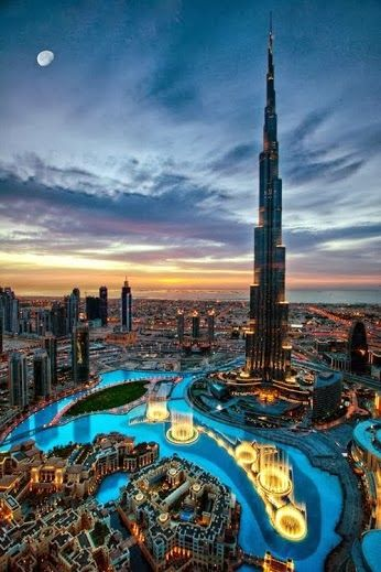 Burj Khalifa, Dubai | *Places To Travel* | Pinterest