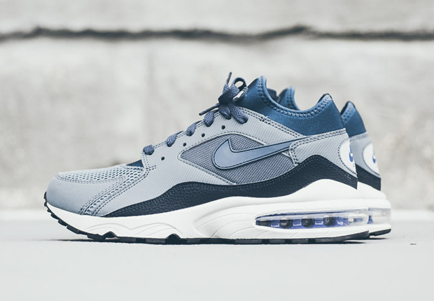 """Nike Air Max 93 """"Blue Graphite"""" - Available - SneakerNews.com"""