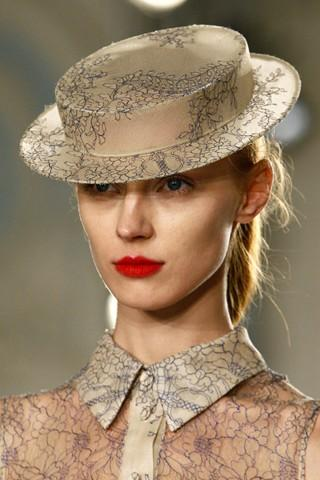 AW2012 Erdem Matching Hat and Shirt | AnOther | Loves
