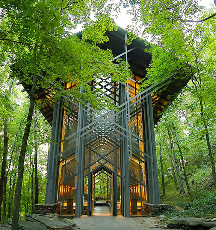 Non-Denominational Chapel Stands in Harmony with Nature - My Modern Metropolis