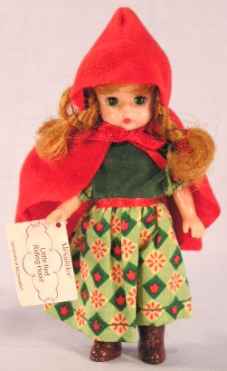Madame Alexander Happy Meal Doll - 2002 Little Red Riding Hood #3 - Happy Toy Depot