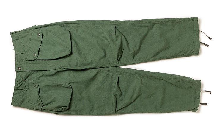 ENGINEERED GARMENTS/Norwegian Pant-Cotton Ripstop-Lt.Olive