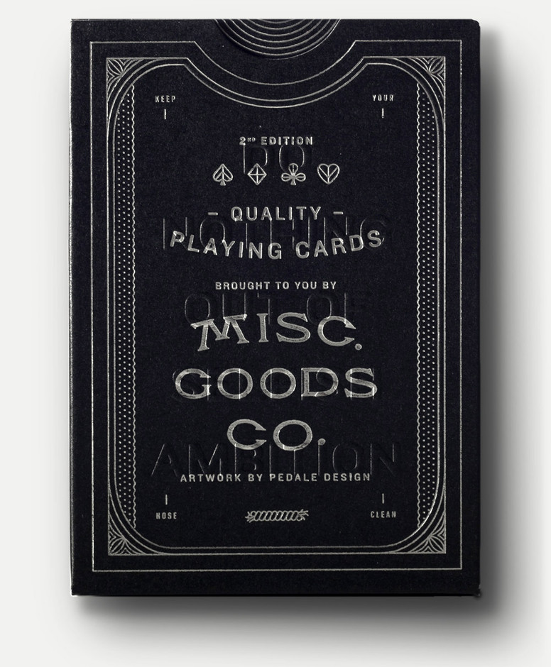 2nd Edition Deck Blk | Misc. Goods Co.