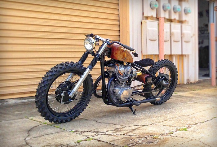 Steel Bent Customs The Seven 1 - The Bike Shed