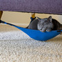 Kitty Cradle : A spacing saving cat hammock your feline will love