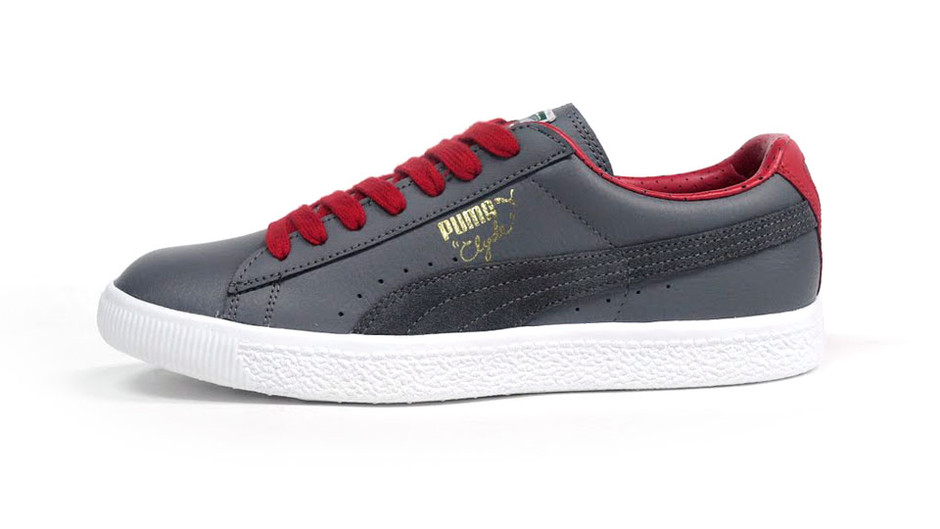CLYDE CITY TUMBLE 「LIMITED EDITION」 GRY/RED/WHT プーマ Puma   ミタスニーカーズ ナイキ・ニューバランス スニーカー 通販