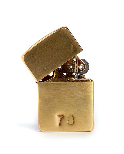 Gift Idea: Custom Stamped Brass Zippo Lighter | For Me, For You