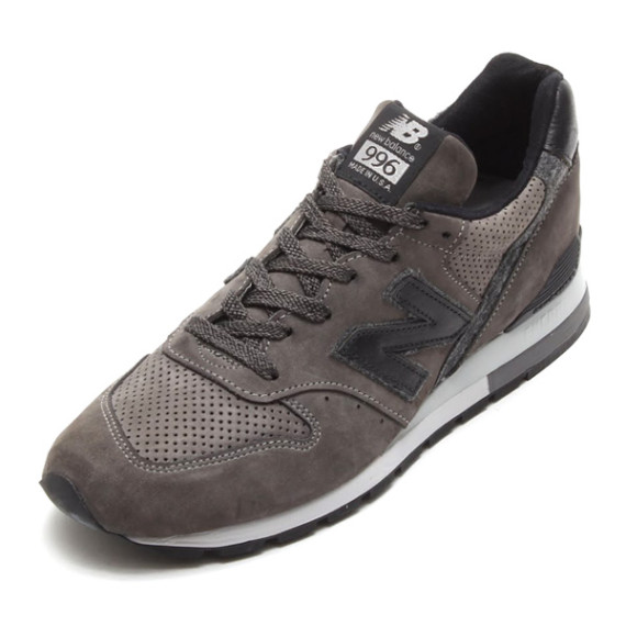 new balance new balance m996dgy made in usa dark grey