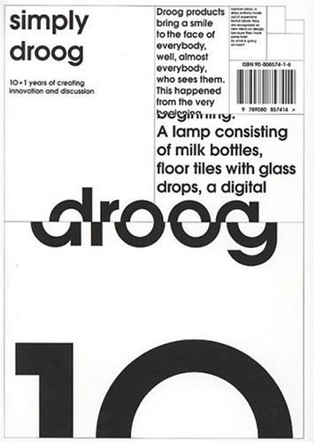 The Book Cover Archive: Simply Droog, design by Thonik