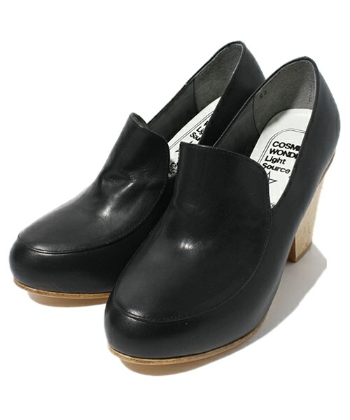 COSMIC WONDER Light Source - Fashion(コズミックワンダー ライトソース) | VEGETABLE TANNED LEATHER CONCEALED HEEL PUMPS(パンプス) - ZOZOTOWN
