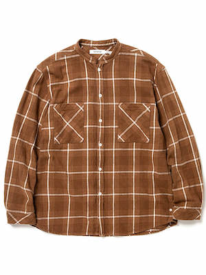 MASTER BIG SHIRT COTTON TWILL OVERPLAID