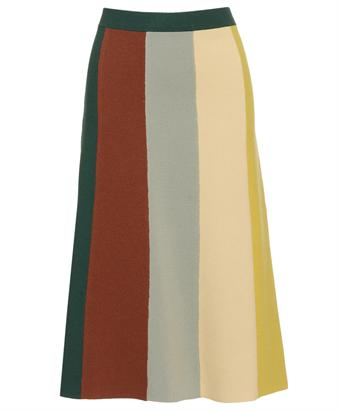Browns fashion & designer clothes & clothing | CHLOÉ | Panelled cashmere knit mid-length skirt
