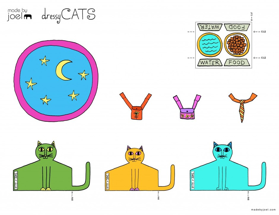 Introducing, The Dressy Cats! | Made by Joel