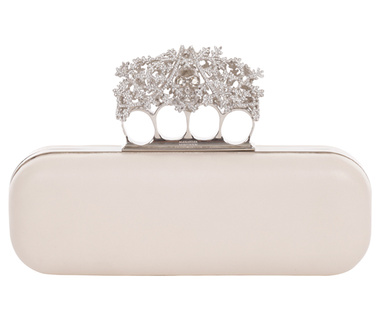 A Christmas knucklebox from Alexander McQueen   Fashion  Vogue English