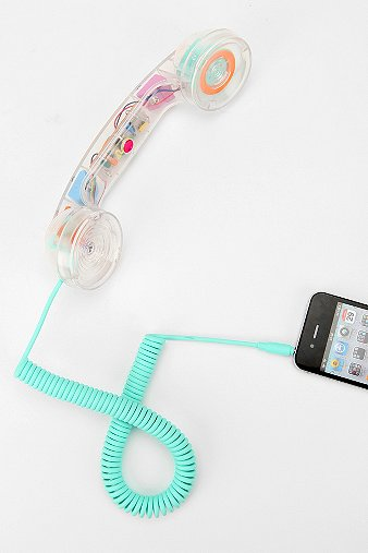 NATIVE UNION Pop Phone Handset - Clear - Urban Outfitters