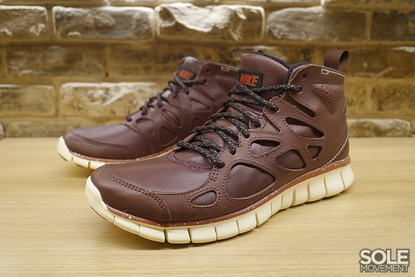 NIKE FREE RUN+ 2 MID SNEAKERBOOT LEATHER QS | sole movement