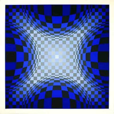 Ond LZ by Victor Vasarely Limited Editio... : ヴィクトル・ヴァザルリ/Victor Vasarely作品画像コレクション - NAVER まとめ